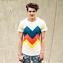 Viishow Moda plašta T-Shirt Td30742 krema