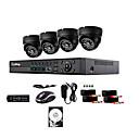 liview ® 700tvl otvoreni dan / noć sigurnosnih kamera i 4CH HDMI 960h DVR sustav 1TB hard disk