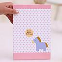 1 Kom velikih dimenzija i prijenosni Cartoon Paper Folding Paket Princess Zrcalni