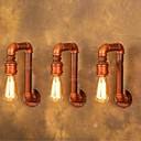 アメリカ村の産業の壁は、創造的なレトロな水道管ランプを点灯さ220--240v