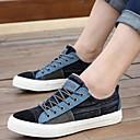 Muške cipele - Modne tenisice - Ležerne prilike - Platno - Crna / Plava / Ružičasta / Nautičko plava