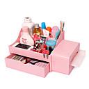 Velký plastový kosmetický box se zásuvkami (více barev)