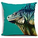Green Cabrite Cotton/Linen Decorative Pillow Cover
