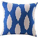 divlje plava traka pamuka / lana dekorativni jastuk pokriti