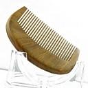 visokokvalitetan 9x5.5cm sandalovina drveni češalj zdravlje češalj