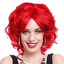 Cosplay Paruky cosplay Festival/Svátek Halloweenské kostýmy Červená Jednobarevné Paruka Halloween / Karneval Dámské