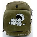 Bag Inspirirana Cosplay Cosplay Anime Cosplay Pribor Bag / ruksak Zelena Canvas / Nylon Male