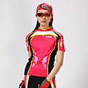 MYSENLAN® Cyklodres a kraťasy Dámské Krátké rukávy Jezdit na koleProdyšné / Rychleschnoucí / Odolný vůči UV záření / Propustnost vůči