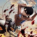 Inspirirana Napad na Titanu Skupljanje Anime Cosplay nošnje Cosplay Suits Jednobojni Smeđa Dugi rukavKaput / Shirt / Hlače / Shawl /