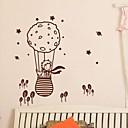 samolepky na zeď Lepicí obrazy na stěnu, moderní Malý princ a liška v balónu pvc nástěnné samolepky