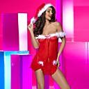 Žene Babydoll / slip haljina Noćno rublje Kolaž-Najlon / Spandex Crvena