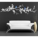 jiubai® větve stromu a ptáci zeď nálepka Lepicí obraz na stěnu