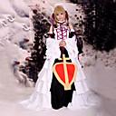 Inspirirana Tsubasa Sakura Anime Cosplay Kostimi Cosplay Suits / Dresses Kolaž Bijela Bez rukava Haljina / Headpiece / Okovratnik / Rukavi