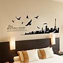 zidne naljepnice zidne naljepnice, ptica Grad obitelj citati home dekor pvc zidne naljepnice