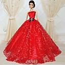 Party & Večer Haljine Za Barbie lutka Crvena Haljine