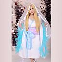 Inspirirana Inu x Boku SS Nobara Yukinokouji Anime Cosplay nošnje Cosplay Suits / Kimono Kolaž Plava Dugi rukavKimono Dlaka / Headpiece /