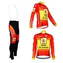 KOOPLUS® Biciklistička majica s tregericama Žene / Muškarci / Uniseks Dugi rukav BiciklProzračnost / Vodootporni patent / Podesan za