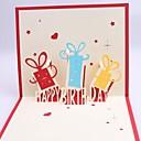 Postranní přehyb Svatební Pozvánky1 Kusů v sadě Lepenkový papír