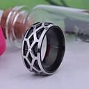 personalizirani Poklon muški prsten od nehrđajućeg čelika urezani nakit