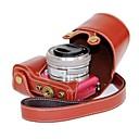 pajiatu® PU kůže kamera ochranné pouzdro pro Sony Alpha A5000 ilce-5000 a5100 ilce-5100 NEX-3N
