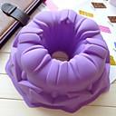 天使中空ケーキ型アイスゼリーチョコレートモールド、シリコーン21.8×21.8×8センチ(8.6×8.6×3.1インチ)