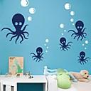 zidne naljepnice zidne naljepnice, crtani hobotnicu PVC zidne naljepnice.