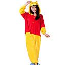 Kigurumi Pidžama Imajte / Rakun Hula-hopke/Onesie Festival/Praznik Zivotinja Odjeća Za Apavanje Halloween Srebrna / Bijela Kolaž Flanel