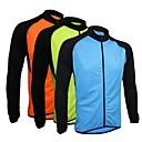 Arsuxeo® Biciklistička majica Muškarci Dugi rukav Bicikl Prozračnost / Quick dry / Anatomski dizajn / Prednji ZipperBiciklistička majica