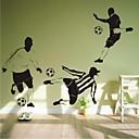 nástěnné nálepky na stěnu, moderní fotbal, PVC samolepky na zeď