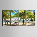 E-home® plaža sat platnu 4pcs