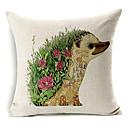 živa jež obrazac pamuk / lan dekorativne jastučnicu