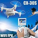 Dron Cheerson cx30s 4 Kanala 6 OS 2.4G S kamerom RC quadcopter Failsafe / Flip Od 360° U Letu / Pristup U Stvarnom Vremenu Snimke Bijela