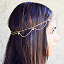 shixin® berba zlatna kićanka modne headbands (1 kom)