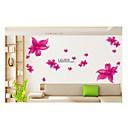 samolepky na zeď na stěnu, styl světlo láska lilie pvc samolepky na zeď