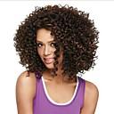 módní dámské Glueless hluboko kudrnaté krátké vlasy paruka pro afro-americké