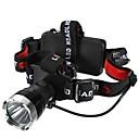 Osvětlení Čelovky LED 1200 Lumenů Režim Cree XM-L T6 18650 / AAA Voděodolný / Odolný proti nárazům / Strike Bezel / Nouzová situace
