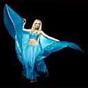 Břišní tanec Vrchní část oděvu Dámské Trénink Polyester Flitry Jeden díl Sady podprsenek a kalhotek