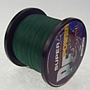 1000m / 1100 Yards PE Braided Line / Dyneema Zsinór Tamno zelena 30 lb / 50LB / 40LB / 45LB 0.26mm,0.29mm,0.30mm,0.32mm mm ZaMorski