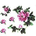 1pc vodootporan šarena dva velika cvijeta obrazac tattoo naljepnice