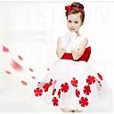 Dívka je Květinový Léto Šaty Směs bavlny Modrá / Růžová / Fialová / Červená