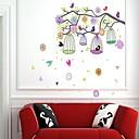 zidne naljepnice zidne naljepnice, stil šarene ptice Kavez PVC zidne naljepnice