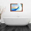 3D zidne naljepnice zidne naljepnice, valovi kupaonica dekor mural PVC zidne naljepnice