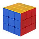 Hladký Speed Cube 3*3*3 Rychlost Magické kostky Duhová Plast