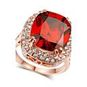 Prstenje Kristal / imitacija Ruby / imitacija Diamond Birthstones Jewelry Prstenje sa stavom
