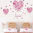 zidne naljepnice zidne naljepnice, ljubavne leptire PVC zidne naljepnice