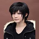 angelaicos pánské durarara drrr izaya orihara chlapec krátké černé vrstvené Halloween kostým Harajuku anime cosplay strany paruky
