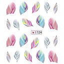 Crtani film/Lijep - 3D Nail Naljepnice - za Prst - 10.5X7X0.1 - 1