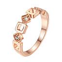 Prstenje Moda Party Jewelry Legura Žene Klasično prstenje 1pc,Univerzalna veličina Srebrna / Rose Gold