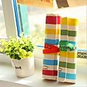 šarene pruge lana tri drvo olovka torba (slučajan odabir boje)