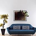 3d vlk samolepky na zeď obrazy na stěnu